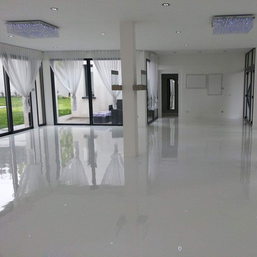 Revetement sol garage resine pjpg with revetement sol - Resine epoxy brico depot ...